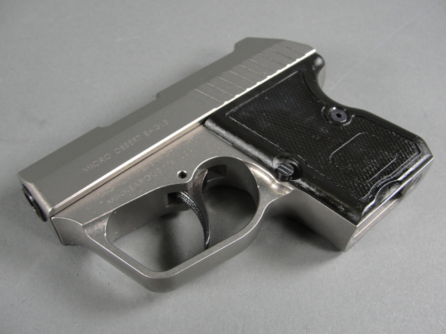 50 desert eagle. I took the Micro Desert Eagle