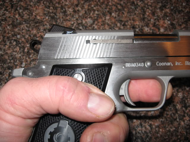 Reintroduction of the Coonan Classic 357   Day At The Range