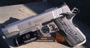 Smith & Wesson E Series Railed 1911 Review