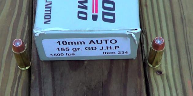 Underwood Ammo 10mm 155gr Gold Dot Gel Test & Results