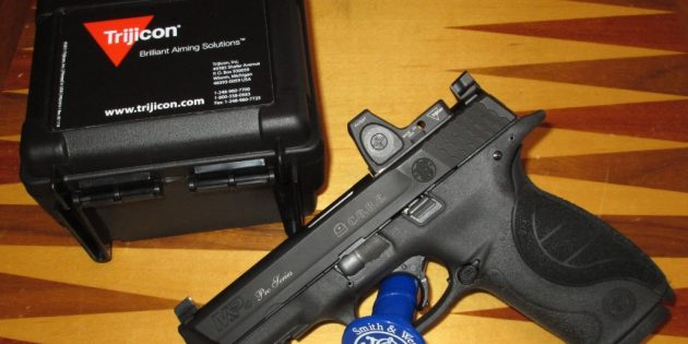 S&W M&P C.O.R.E with Mounted Trijicon RMR Review