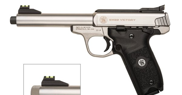 S&W 22 Victory: The New 22 Pistol