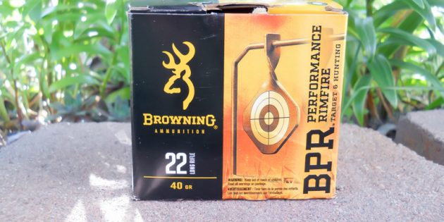 Browning BPR 22LR Ammunition