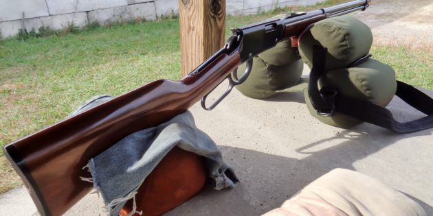 Henry Lever Action:Sight Mod Part 2