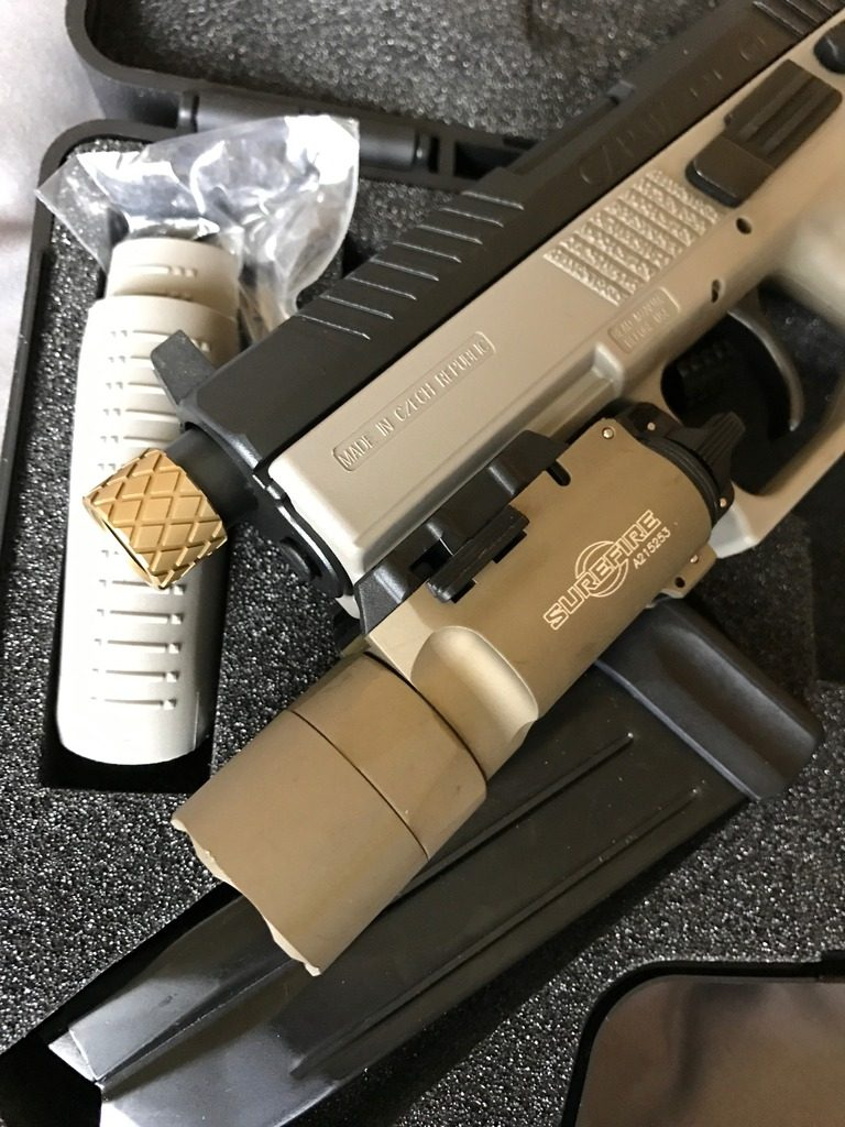 REVIEW: CZ P-07 9mm Suppressor Ready | Day At The Range