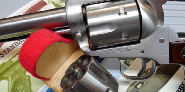 Lipsey's Ruger Blackhawk 10MM: Ransom Rest Accuracy Test