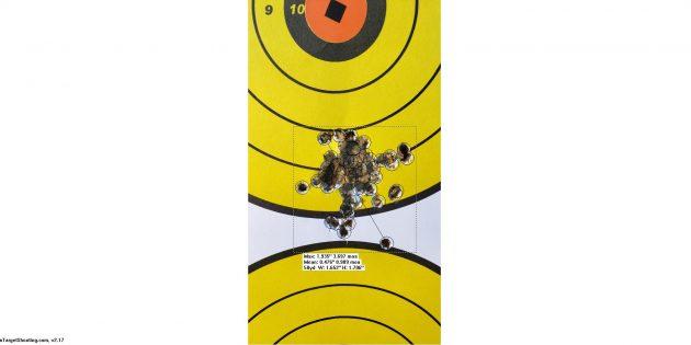 50 at 100 CZ455 Lothar Walther Barrel SK FlatNose Match